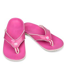 eacbe65cc7c Spenco Pink Berry Yumi Crackle Flip-Flop - Women