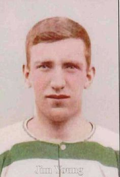Jim Young of Celtic in 1906.