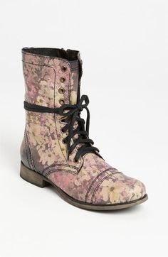 These boots are just awesome! Floral, boho and super cool. And they will work flouncy skirts, dresses, shorts, jeans. I'd love to see them paired with cuffed up denim and a graphic t-shirt.