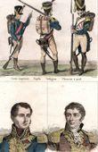 Uniforme Militare - Costume - Napoleone - Guerre Napoleoniche - Fanteria - Guardia Imperiale - Ritratti - Farine (1770-1833) - Vial (1766-1813)