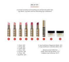 Beautiful Lip Collection #lipsheer #cleanbeauty #lipshine  www.beautycounter.com/sarahboliek
