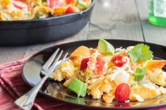 Learn how to prepare this easy Mexican Egg Brunch recipe like a pro. With a total time of only 25 minutes, you'll have a delicious breakfast ready before you know it. Mexican Eggs, Brunch Recipes, Potato Salad, Avocado, Toast, Breakfast, Ethnic Recipes, Food, Morning Coffee