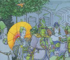 The City of Fire- The Jade Parade ... | A Utopian Encyclopedia