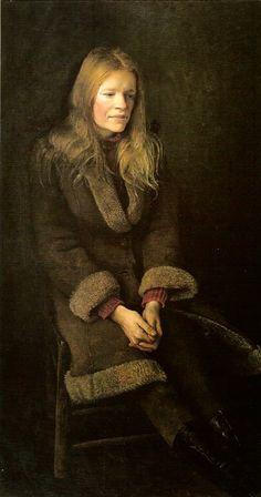 Andrew Wyeth - Helga 'Pageboy', 1979
