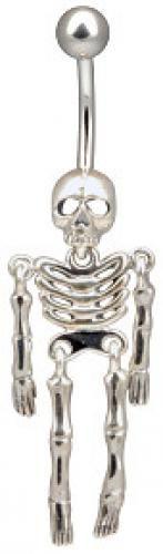 Skeleton Curved Barbell