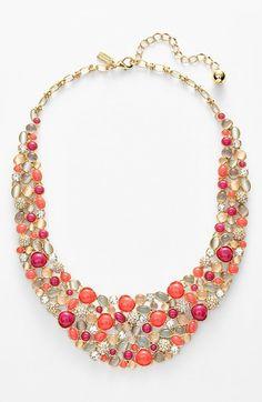 Kate Spade New York 'bashful Blossom' Bib Necklace