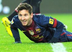 Lionel Messi smiles as he can't believev the call. #messi #leomessi #soccer #futbol #barcelona #argentina http://www.pinterest.com/TheHitman14/lionel-messi-%2B/