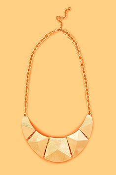 Pyramid Collar Necklace
