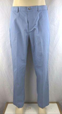 NEW Croft & Barrow Classic Fit Men's Flat Front Poplin Pant Size 34x30 #CroftBarrow #CasualPants Brand Name Clothing, Mens Fitness, Poplin, Casual Pants, Flats, Classic, Fabric, Cotton, Clothes