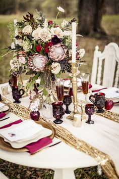 Marsala Wedding Insp
