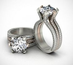 Wedding Ring - CAD/CAM Jewelry Design & 3D Modeling Services - http://www.3dwaxcarving.com/