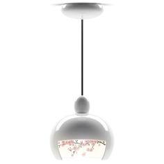 Juuyo Peach Flowers pendant light by Lorenza Bozzoli for Moooi.