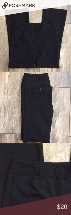INC Black Slacks Perfect for the office, wide leg but slim fitting. EUC. INC International Concepts Pants Wide Leg
