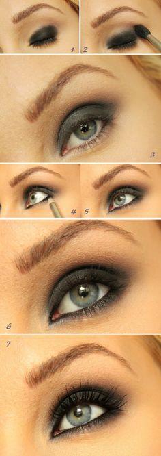 Smokey Eye Tutorial - 16 Makeup Tutorials to Get the Spring 2015 Look | GleamItUp