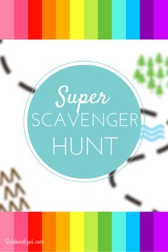I discovered something about myself a few years back. I'm really good at planning a super sweet scavenger hunt. The best one I ever put together was for the girl's Sweet 16. I thought it would be fun to share with you how we did it and give you a free printable hunt list to … … Continue reading →