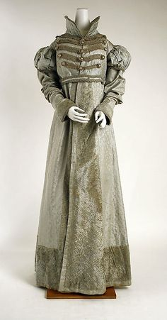 Pelisse 1820 The Metropolitan Museum of Art - OMG that dress!