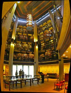Thomas Fisher Rare Book Library, University of Toronto, Canada. Yes my nerdy ass was here too Library Themes, Library Books, University Of Toronto, Library University, All Over The World, Around The Worlds, Brick Crafts, University Architecture, Library Inspiration