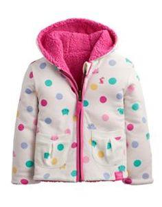 BABYCOSETTE Baby Girls Reversible Fleece