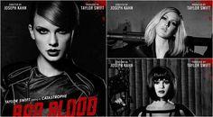 Artis-artis yang muncul dalam video klip Bad Blood (via Twitter/Taylor Swift)