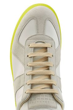 Replica Leather Sneakers | Maison Margiela