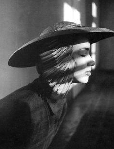 c2b960aca2679f German model Elfi Wildfeuer is wearing a hat by Adele List. Photo by Hubs  Flöter