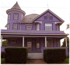 There needs to be more purple houses in this world