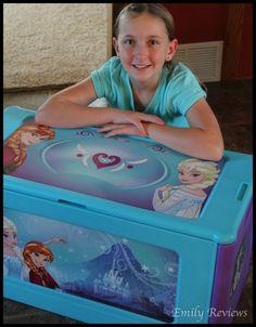 Disney frozen toy box - practical gift idea for kids.