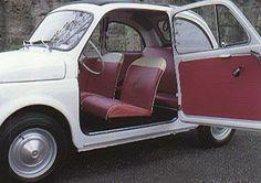 Fiat 500 D - apertura porte