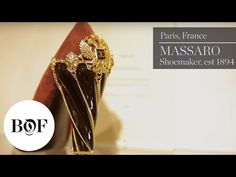The Business of Fashion goes inside Massaro (est an iconic shoemaker that is part of Chanel subsidiary Paraffection, to discuss how craftsmanship can . Claudia Schiffer, Christian Lacroix, John Galliano, Chanel, My Favorite Things, Diamond, Business, Accessories, Youtube