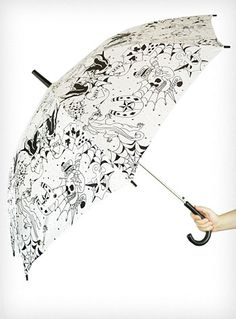 Covered in Tattoos Umbrella
