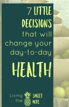 making small, healthy choices throughout the day is 90% about planning ahead!