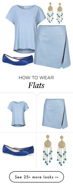 """""""Daily Blue"""" by cindiawb on Polyvore featuring Mads Nørgaard and Karen Kane"""