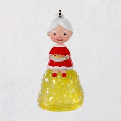 "Mini Mrs. Claus's Gumdrop Ornament, 1.5"" - Keepsake Ornaments - Hallmark $8.99"