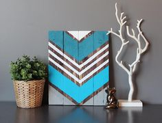Only $52 in my etsy shop AND colors are fully customizable!  #etsy #etsyshop #handmade #handpainted #upcycle #reclaimed #reclaimedart #reclaimedwood #rustic #rusticart #rusticsign #palletart #palletsign #palletwood #palletsigns #wood #woodart #woodsign #woodsigns #modern #modernrustic #chevron #chevronart #chevronpainting #midwest #minnesota #minneapolis by sambeedesigns