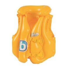 Vesta Bestway® Swim Safe, Step B, detská, cm, nafukovacia Swim Safe, Rubber Duck, Swimming, Products, Vest Coat, Yellow, Physical Intimacy, Swiming Pool, The Beach