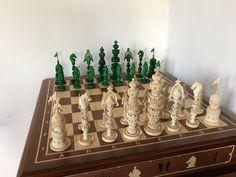 Фен-шуй ручной работы. Эксклюзивные шахматы ручной работы,изготовлены из бивня мамонта. Эксклюзивные шахматы ручной работы. Ярмарка Мастеров.