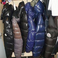 daunenjacke down jacket downjacket moncler shiny fetish