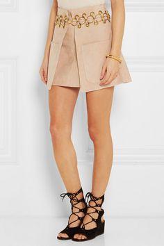 Chloé suede mini skirt