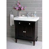 """Found it at Wayfair - 30"""" Single Bathroom Vanity in Dark Brown"""