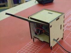 Gallery Laser Cut MDF MP3 Amplifier - Meole Brace School | Kitronik