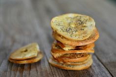 Homemade Everything Bagel Chips {Baked) | mountainmamacooks.com