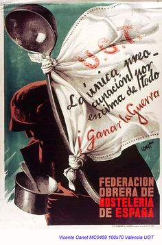 Spain - 1936-39. - GC - poster - Vicente Canet