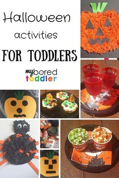 If you are looking for toddler Halloween crafts, treats and activities we have got some great ones for you. They are all easy enough for your toddler to make and they'll have lots of fun in the process!
