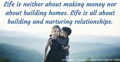 Uma's Blogs: How to Build Better Relationships