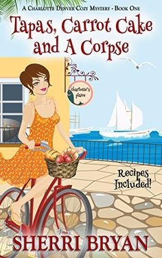 Tapas, Carrot Cake and a Corpse (A Charlotte Denver Cozy Mystery Book 1) by Sherri Bryan http://www.amazon.com/dp/B00Y7XAX26/ref=cm_sw_r_pi_dp_ipzSwb1M6NQGA