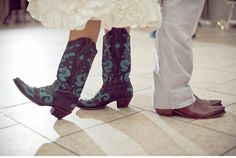 boots at the reception