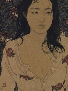 ●● Art of Ikenaga Yasunari ●● Japan Illustration, Contemporary Artists, Modern Art, Art Occidental, Art Chinois, Art Asiatique, Art Japonais, Japanese Painting, Japanese Prints