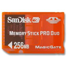 Sandisk 256MB Memory Stick Pro Duo Gaming