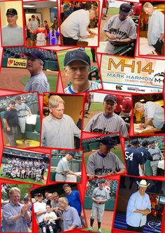 Mark Harmon Celebrity Weekend MH14 photo collage