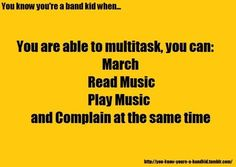 All my strengths combined into a band nerd Band Mom, Band Nerd, Love Band, Music Memes Funny, Music Jokes, Funny Quotes, Marching Band Quotes, Marching Band Problems, Flute Problems